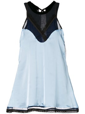 Sacai - Camisole Layer Blouse Blue - Women