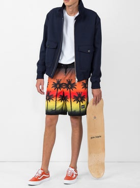Marcelo Burlon County Of Milan - Palm Sunset Bermuda Shorts - Men