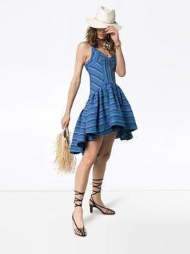 Rosie Assoulin - Flared Stripe Print Dress - Women