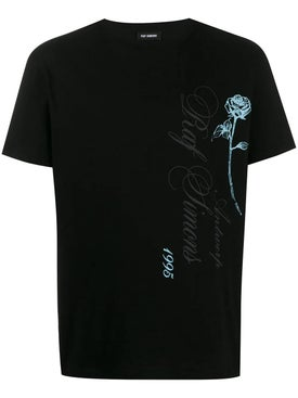 Raf Simons - Rose Logo T-shirt - Men