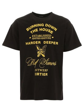 Raf Simons - Burning Down The House T-shirt - Men