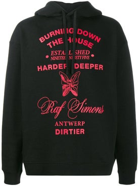 Raf Simons - Burning Down The House Hoodie - Men
