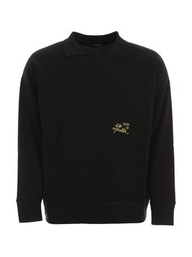 Raf Simons - Illusion Logo Sweater - Men