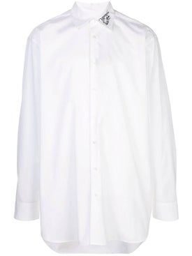 Raf Simons - Embroidered Poplin Shirt - Men