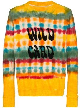 Wild Card Wacky Dye Sweater