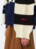 Sonia Rykiel - Star Colorblock Slogan Intersia Knit Cape - Women