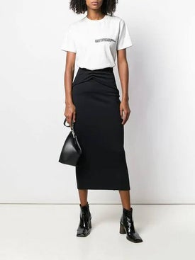 Haider Ackermann - Ruched Detail Pencil Skirt - Women