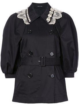 Simone Rocha - Double-breasted Belted Coat - Women