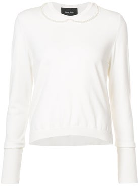 Simone Rocha - Long Sleeve Sweater - Women