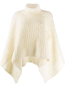 Jacquemus - Le Grand Turtleneck Knitted Poncho - Women