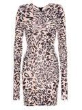 Alexandre Vauthier - Fitted Leopard Print Dress - Women