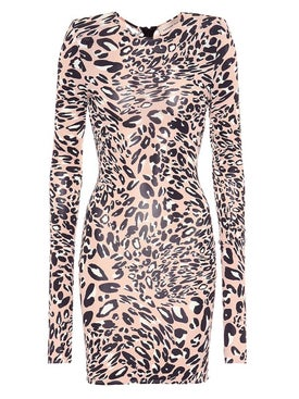 Alexandre Vauthier - Fitted Leopard Print Dress - Women