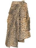 Jacquemus - La Jupe Thika Leopard Print Skirt - Women