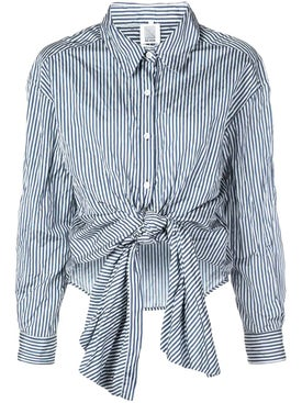 Rosie Assoulin - Reversible Classic Tie Front Shirt - Women