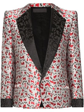 Haider Ackermann - Abstract Print Jacquard Blazer - Women