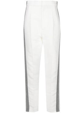 Haider Ackermann - White High Waisted Pants - Women