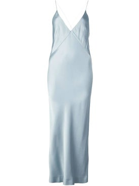 Haider Ackermann - Pale Blue Midi Slip Dress - Women