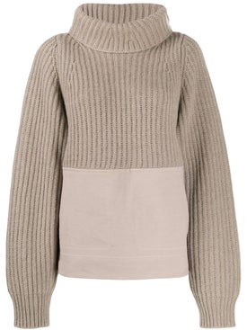 Haider Ackermann - Paneled Turtleneck Sweater - Women