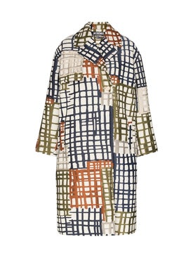 Jacquemus - Le Manteau Carreaux Multicolored Coat - Women
