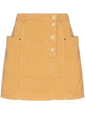Jacquemus - Yellow Mini Skirt - Women