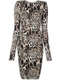 Alexandre Vauthier - Lynx Print Dress - Women