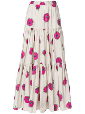 La Double J - Floral Big Skirt - Women