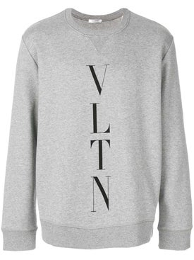 Valentino - Vltn Sweatshirt Light Grey - Men