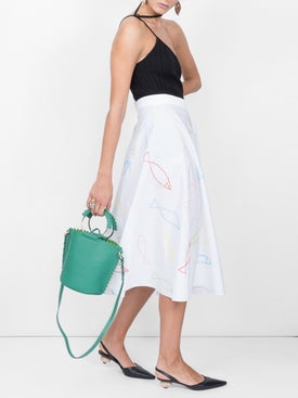 Maison Rabih Kayrouz - Fish Print Skirt - Women