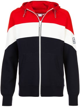 Moncler - Striped Zipped Jacket - Hoodies