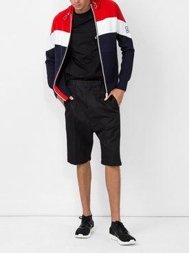 Moncler - Striped Zipped Jacket - Men