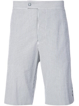 Moncler - Striped Knee Length Shorts - Men