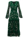 Saloni - Silk Devon Dress - Women