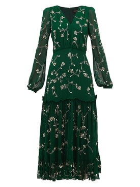 Saloni - Silk Devon Dress - Women