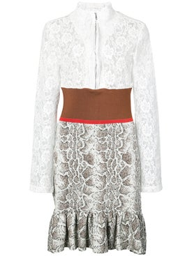 Chloé - Lace Patterned Dress - Women