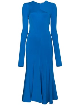 Esteban Cortazar - Long Sleeve Fitted Full Circle Dress - Women