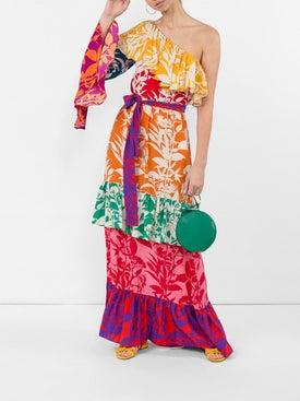 Borgo De Nor - Penelope Floral Print Silk Dress - Women