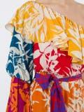 Borgo De Nor - Penelope Floral Print Silk Dress Multicolor - Women