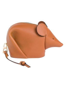 Brown Mouse Coin Purse