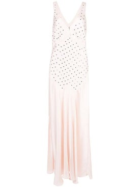 Paco Rabanne - Light Pink Studded Dress - Maxi