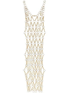 Paco Rabanne - Sleeveless Maxi Chain Dress - Women
