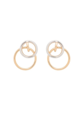 Charlotte Chesnais - Interlocking Hoop Earrings - Women