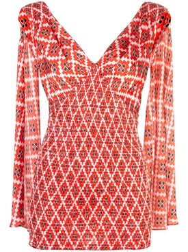 Paco Rabanne - Geometric Sleeveless Top - Women