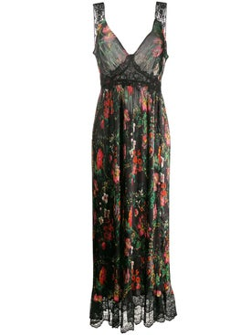 Paco Rabanne - Floral Lace Maxi Dress - Women