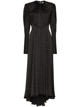 Paco Rabanne - Embellished Long Sleeve Gown - Women