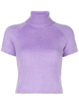 Paco Rabanne - Purple Wool Blend Top - Women