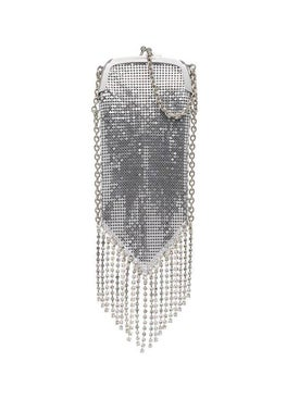 Paco Rabanne - Pampilles Fringed Chainmail Shoulder Bag - Women