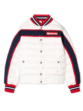 Moncler - Kids Color Block Logo Down Jacket - Kids