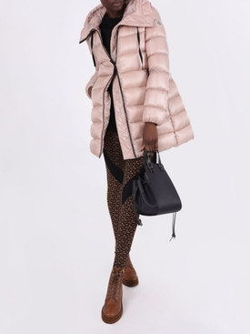 Light pink Suyen long parka