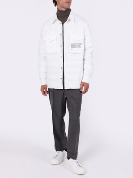 7 MONCLER FRAGMENT HIROSHI FUJIWARA WHITE MAZEN JACKET
