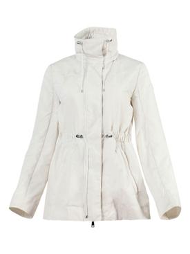 Cream Ocre Short Parka Jacket
